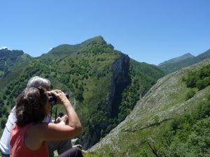 Mirando el paisaje del P. N. de Ponga