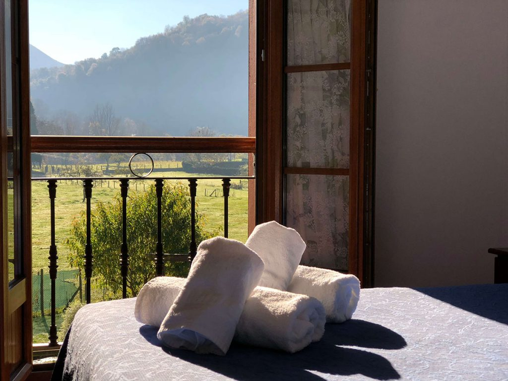 hotel habitación doble con vistas