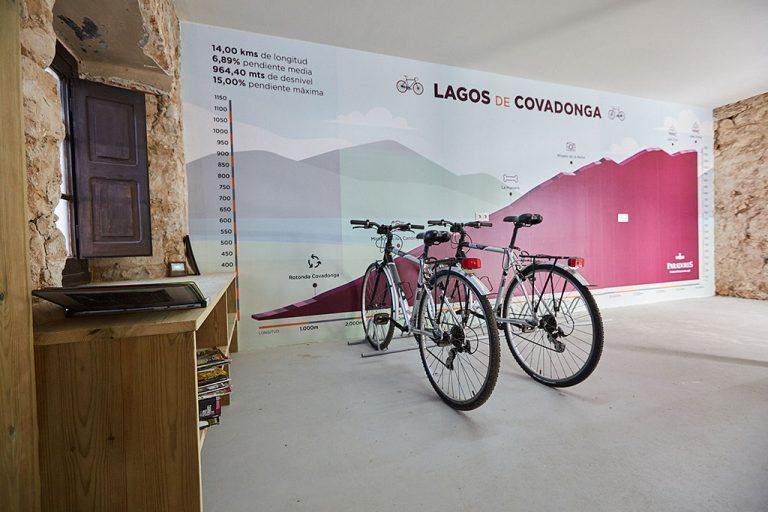bicicletas parador de Cangas